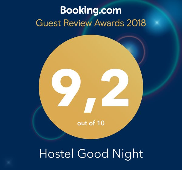 Guest Review Awards 2018 - 9.2